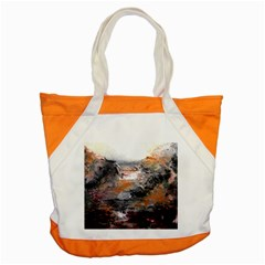 Natural Abstract Landscape Accent Tote Bag