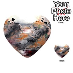 Natural Abstract Landscape Playing Cards 54 (Heart)