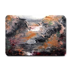 Natural Abstract Landscape Small Doormat
