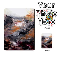 Natural Abstract Landscape Multi-purpose Cards (Rectangle)