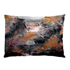 Natural Abstract Landscape Pillow Cases