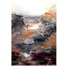 Natural Abstract Landscape 5.5  x 8.5  Notebooks