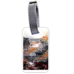 Natural Abstract Landscape Luggage Tags (one Side)