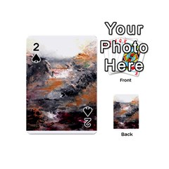 Natural Abstract Landscape Playing Cards 54 (Mini)