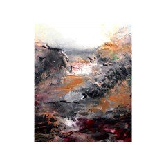 Natural Abstract Landscape Shower Curtain 48  x 72  (Small)