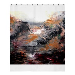 Natural Abstract Landscape Shower Curtain 60  X 72  (medium)