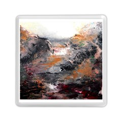 Natural Abstract Landscape Memory Card Reader (square)