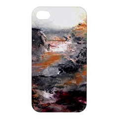 Natural Abstract Landscape Apple Iphone 4/4s Premium Hardshell Case