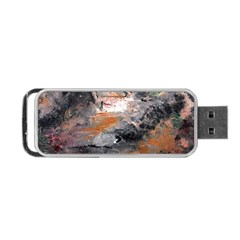 Natural Abstract Landscape Portable USB Flash (One Side)