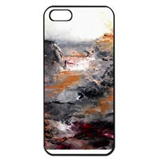 Natural Abstract Landscape Apple Iphone 5 Seamless Case (black)