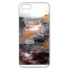 Natural Abstract Landscape Apple Seamless Iphone 5 Case (clear)