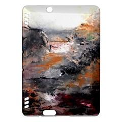 Natural Abstract Landscape Kindle Fire Hdx Hardshell Case