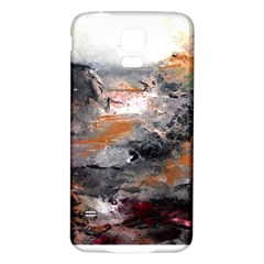 Natural Abstract Landscape Samsung Galaxy S5 Back Case (white)