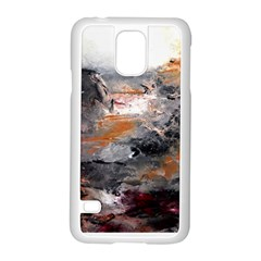 Natural Abstract Landscape Samsung Galaxy S5 Case (White)