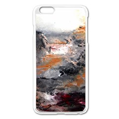 Natural Abstract Landscape Apple iPhone 6 Plus Enamel White Case