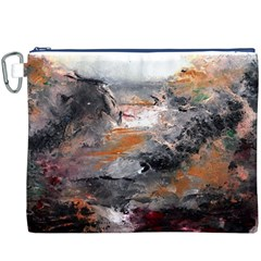 Natural Abstract Landscape Canvas Cosmetic Bag (XXXL)
