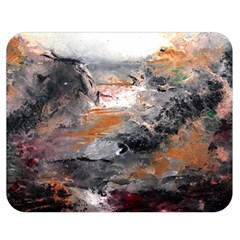 Natural Abstract Landscape Double Sided Flano Blanket (Medium)