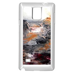 Natural Abstract Landscape Samsung Galaxy Note 4 Case (White)
