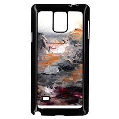 Natural Abstract Landscape Samsung Galaxy Note 4 Case (Black)