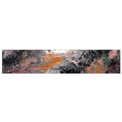 Natural Abstract Landscape Flano Scarf (small)