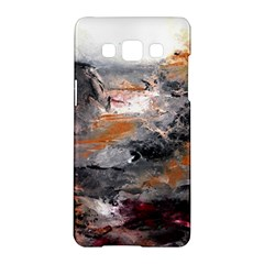 Natural Abstract Landscape Samsung Galaxy A5 Hardshell Case