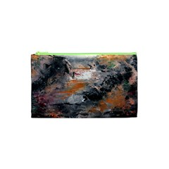Natural Abstract Landscape Cosmetic Bag (XS)