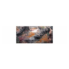Natural Abstract Landscape Satin Scarf (Oblong)