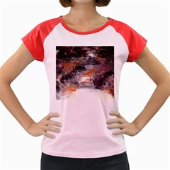 Natural Abstract Landscape No. 2 Women s Cap Sleeve T-Shirt