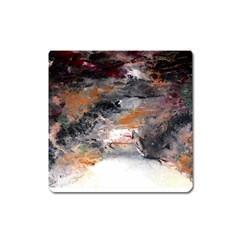 Natural Abstract Landscape No  2 Square Magnet