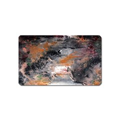 Natural Abstract Landscape No  2 Magnet (name Card)