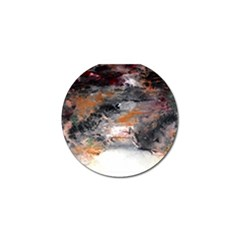 Natural Abstract Landscape No  2 Golf Ball Marker (4 Pack)