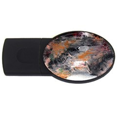 Natural Abstract Landscape No  2 Usb Flash Drive Oval (2 Gb)