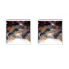 Natural Abstract Landscape No  2 Cufflinks (square)