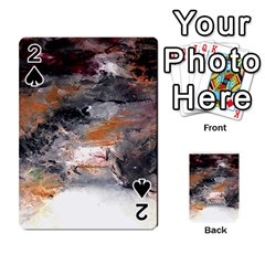 Natural Abstract Landscape No  2 Playing Cards 54 Designs