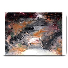 Natural Abstract Landscape No  2 Large Doormat