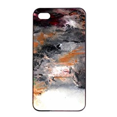 Natural Abstract Landscape No  2 Apple Iphone 4/4s Seamless Case (black)