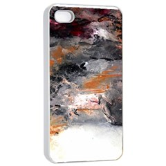 Natural Abstract Landscape No  2 Apple Iphone 4/4s Seamless Case (white)