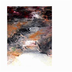 Natural Abstract Landscape No  2 Small Garden Flag (two Sides)