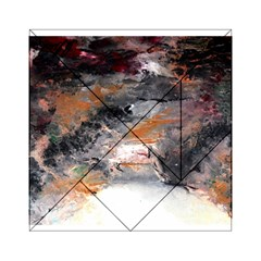 Natural Abstract Landscape No. 2 Acrylic Tangram Puzzle (6  x 6 )