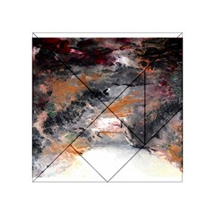 Natural Abstract Landscape No  2 Acrylic Tangram Puzzle (4  X 4 )