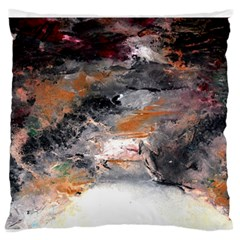 Natural Abstract Landscape No. 2 Large Flano Cushion Cases (Two Sides)