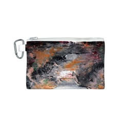 Natural Abstract Landscape No. 2 Canvas Cosmetic Bag (S)