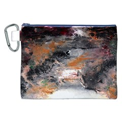 Natural Abstract Landscape No. 2 Canvas Cosmetic Bag (XXL)