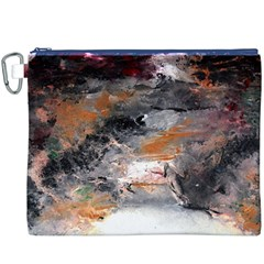 Natural Abstract Landscape No. 2 Canvas Cosmetic Bag (XXXL)