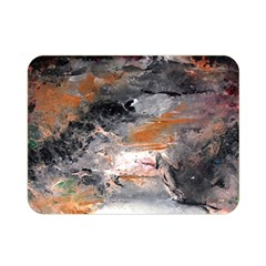 Natural Abstract Landscape No. 2 Double Sided Flano Blanket (Mini)