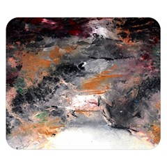 Natural Abstract Landscape No. 2 Double Sided Flano Blanket (Small)