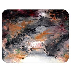 Natural Abstract Landscape No  2 Double Sided Flano Blanket (medium)