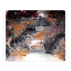 Natural Abstract Landscape No. 2 Double Sided Flano Blanket (Large)