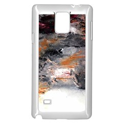 Natural Abstract Landscape No. 2 Samsung Galaxy Note 4 Case (White)