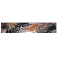 Natural Abstract Landscape No  2 Flano Scarf (large)